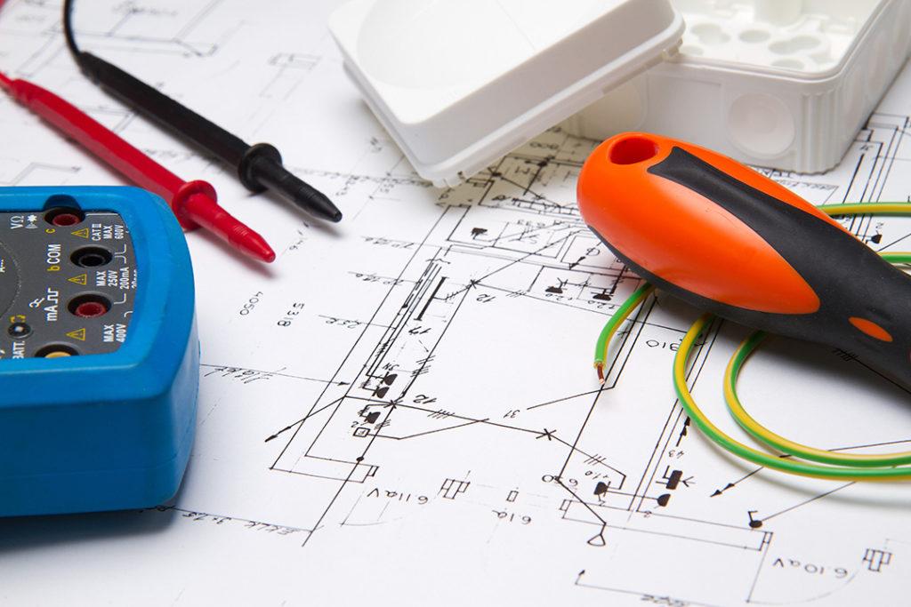 projekty elektrczne instalacji